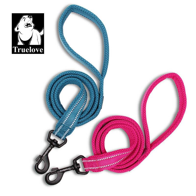 Truelove® Dog Leads Airmesh 3M Reflective Short & Long Leash 11 Colours 4 Widths